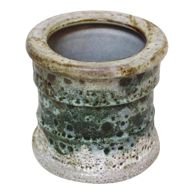 Raymor Mid-Century Italian Lava Glaze Vase - Image 1 of 8