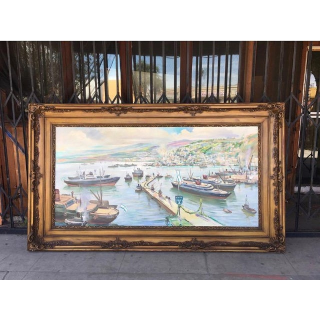 Vintage Victorian Picture Frame Painting For Sale - Image 13 of 13