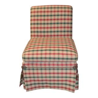 Vintage Baker Parson Style Chair W/Tassels
