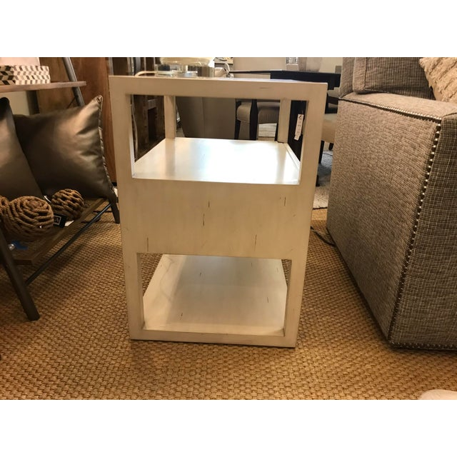 Century Furniture Transitional Century Furniture New Haven One Drawer Side Table For Sale - Image 4 of 9