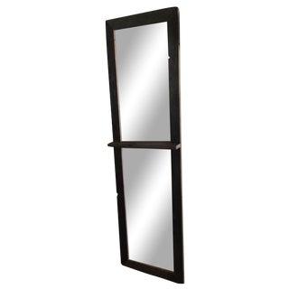 Reclaimed Rustic Wood Floor Mirror