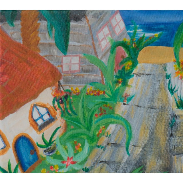 West Side of Santa Cruz Acrylic Painting - Image 2 of 5