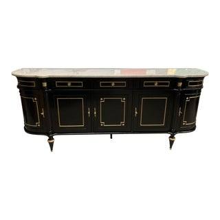 1910s French Louis XVI Antique Sideboards or Buffet For Sale