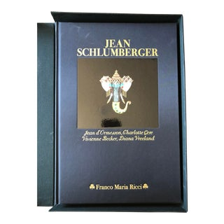Jean Schlumberger 1991 Jean d'Ormesson Charlotte Gere Vivienne Becker Diana Vreeland Jewelry Coffee Table Book For Sale
