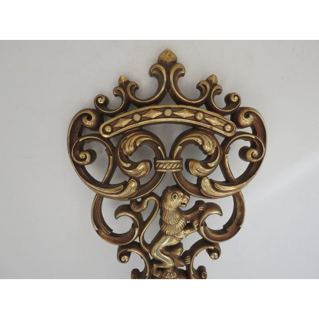 Gold Skeleton Key Wall Hanging - Image 5 of 6