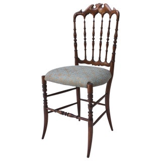 Italian Wood Chiavari Chair For Sale
