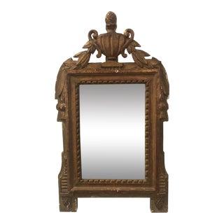 Petite Antique Mirror