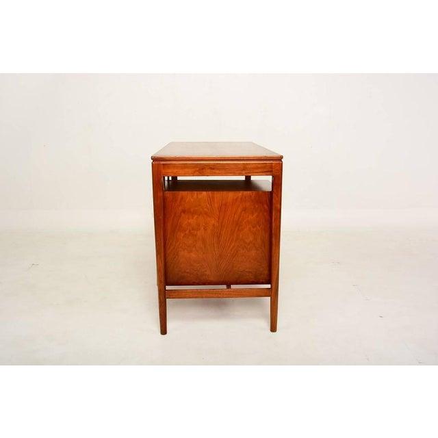 Mid Century Modern Walnut Desk by Drexel Kipp Stewart For Sale In San Diego - Image 6 of 9