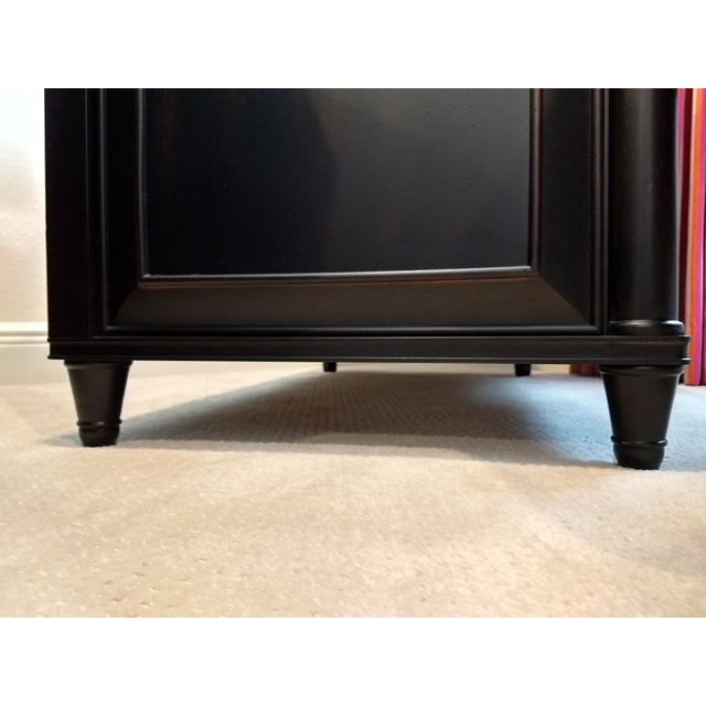 Elegant Two-Drawer Lateral File Cabinet Credenza - (Aspenhome: Young Classics Office Collection) For Sale - Image 10 of 13