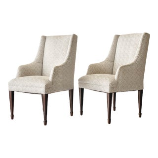 Antique Wingback Chairs - a Pair For Sale