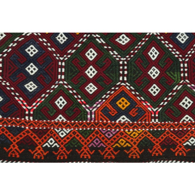 Vintage Turkish Kilim Rug For Sale - Image 9 of 13