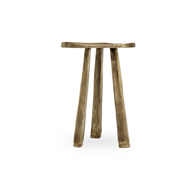 Modern Dolmen Stool From Covet Paris For Sale - Image 3 of 3