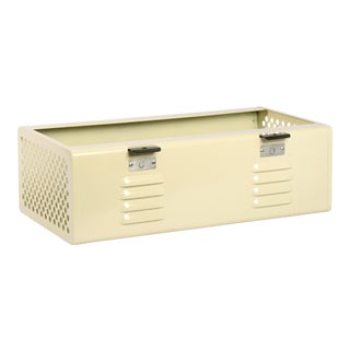 Double Wide Locker Basket in Pearl, Custom Made to Order For Sale