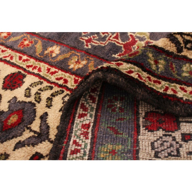 Brown Vintage Turkish Red Rug For Sale - Image 8 of 9