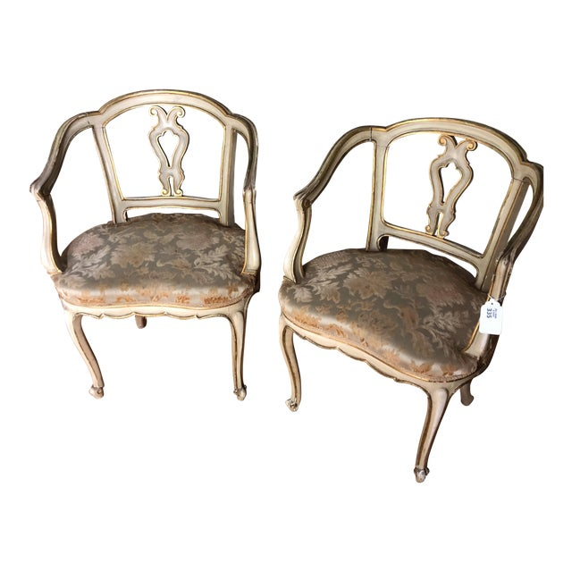 French Accent Chairs - a Pair For Sale
