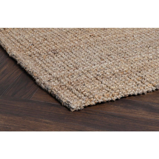 2020s Loop Natural Jute Rug - 5 X 8 For Sale - Image 5 of 6