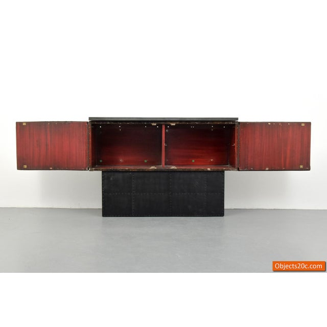 Paul Evans Vintage Mid-Century Paul Evans Deep Relief Cabinet For Sale - Image 4 of 11