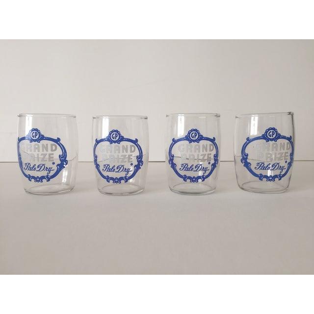 Vintage 1950's Grand Prize Beer Barrel Glasses - 4 - Image 2 of 7
