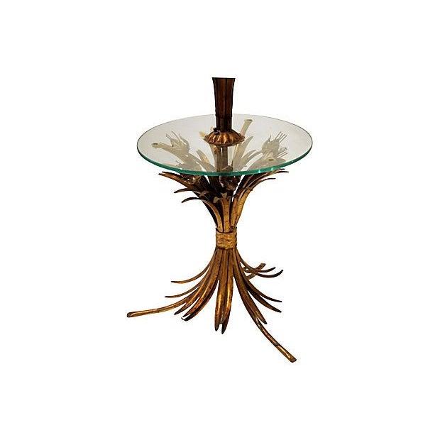 Sheaf of Wheat Gilt Floor Lamp - Image 6 of 6