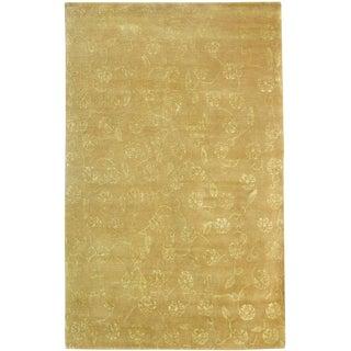 Mid 20th Century Decorative Modern Tibetan Rug 9'4'' X 5'11'' For Sale