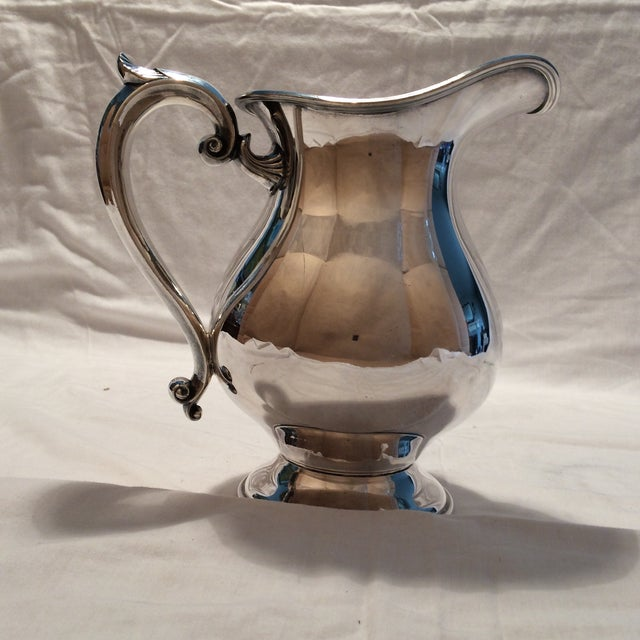 Antique Silver Pitcher by Sheffield Early 1900's - Image 5 of 10