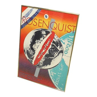 """James Rosenquist Limited Edition Poster-""""92/190""""-1972 For Sale"""