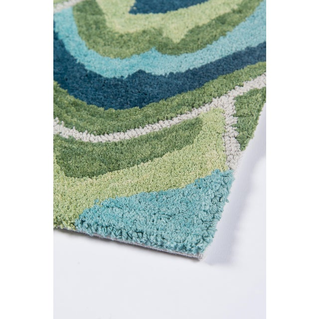 Textile Madcap Cottage Embrace Cloud Club Green Area Rug 5' X 8' For Sale - Image 7 of 8