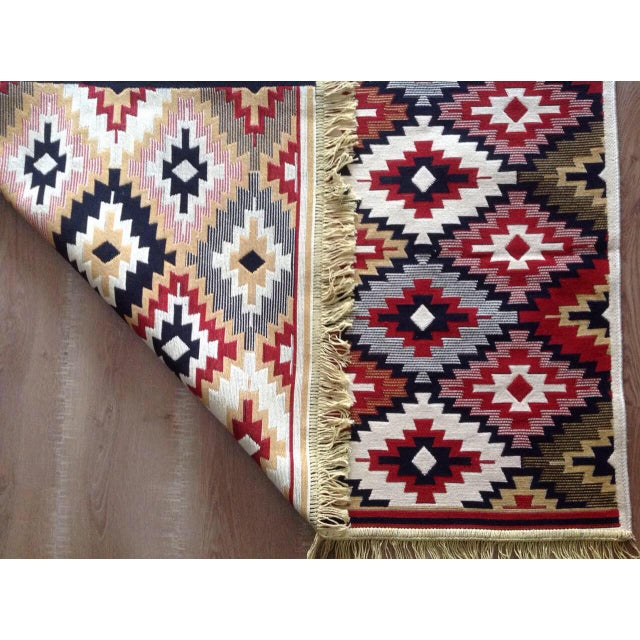 Reversible Kilim Inspired Rug - 3′11″ × 5′11″ - Image 11 of 11