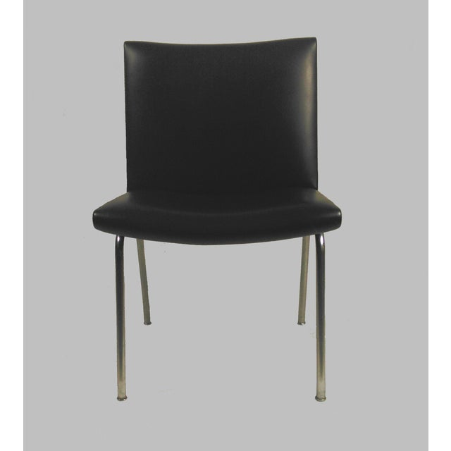 Set of two Hans Wegner AP38 'Airport' Chairs by A.P. Stolen Denmark, Exceptional modern chairs. designed in 1958, on...