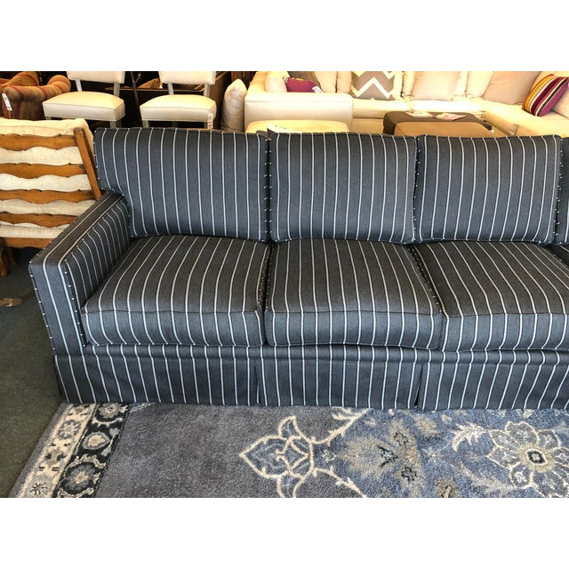Gray New Custom Jasper Sectional by California Sofa For Sale - Image 8 of 13