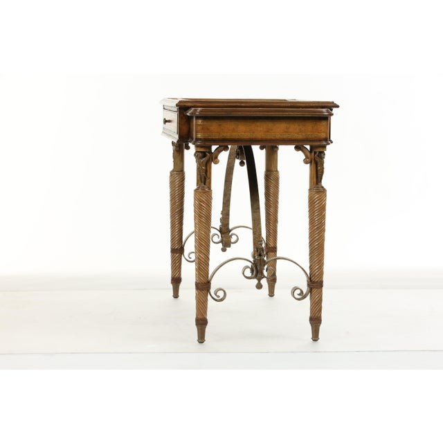 2000 - 2009 Maitland Smith Game Table For Sale - Image 5 of 13