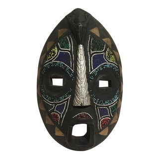 Beaded Mask Wall Art For Sale