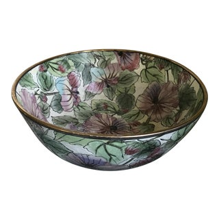 Vintage Andrea by Sadek Hand Painted Bowl