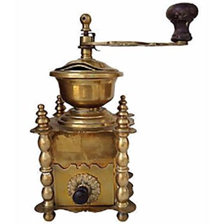 Brass French Coffee Grinder