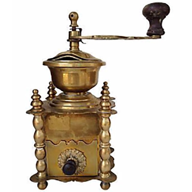 Brass French Coffee Grinder - Image 1 of 3