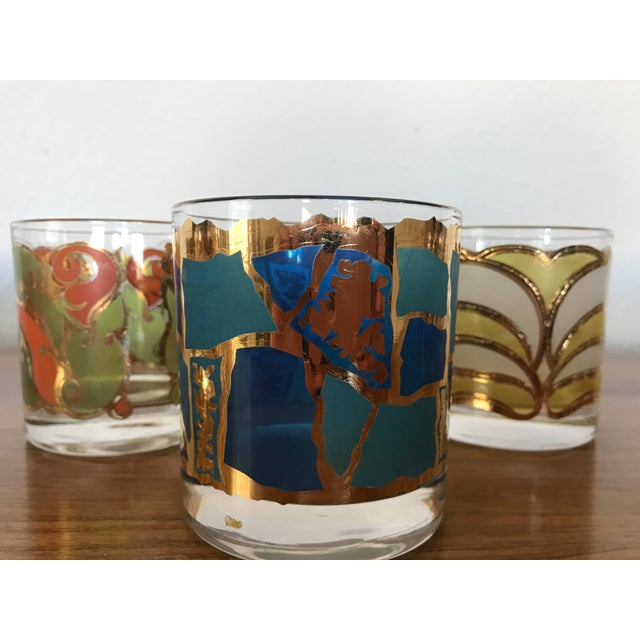 Mid-Century Georges Briard Cocktail Glasses - Set of 8 - Image 3 of 10