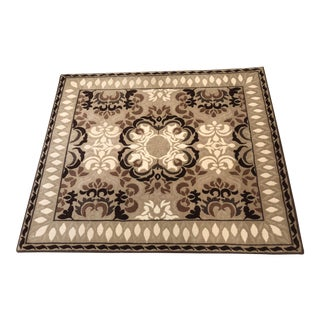 Buratto Custom Patterson, Flynn and Martin Wool Rug - 3′8″ × 4′3″; New Never Used (Orig Cost $1400) For Sale