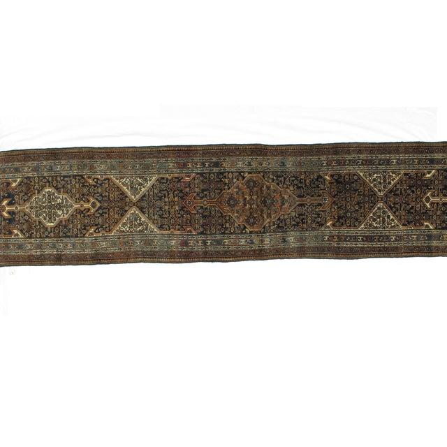 "Leon Banilivi Antique Bibikabad Rug - 3'2"" X 17'1"" For Sale - Image 4 of 8"