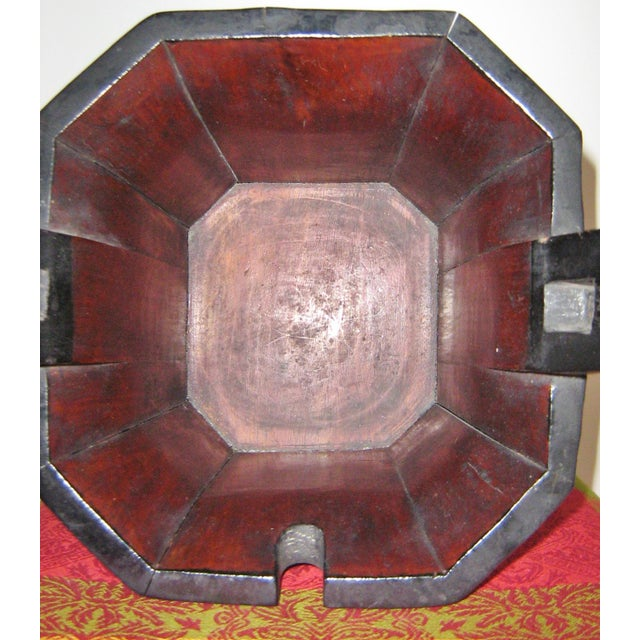 Black Qing Dynasty Chinese Teapot Box For Sale - Image 8 of 10