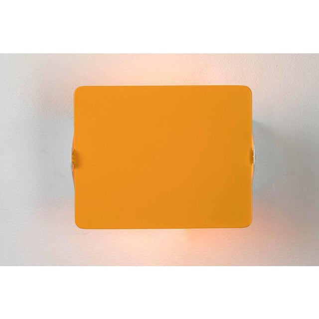 Contemporary Charlotte Perriand Yellow 'Cp1' Wall Light For Sale - Image 3 of 6