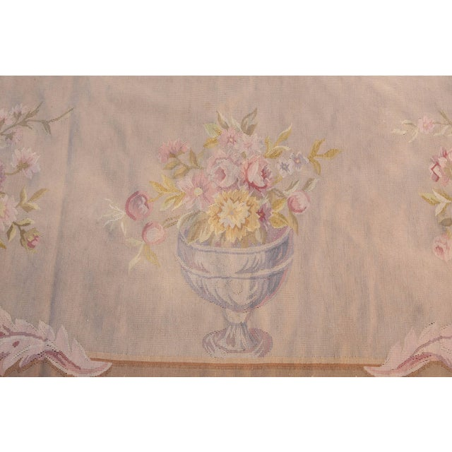 French Aubusson Rug For Sale In Los Angeles - Image 6 of 9