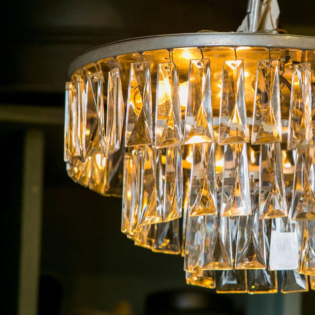 French Vintage French Chandelier For Sale - Image 3 of 6