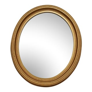 Early 20th Century Antique Gilt Wood Mirror For Sale