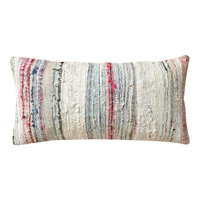 Moroccan Berber Striped Pillow Cover - Image 1 of 10