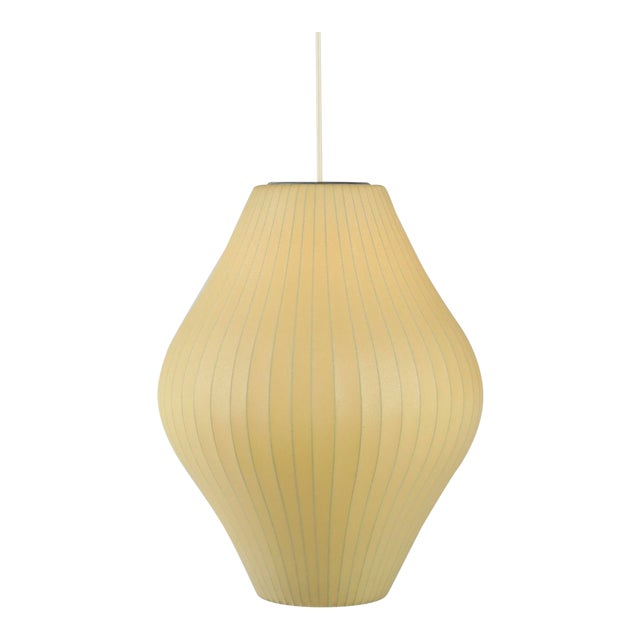 1950s Vintage George Nelson for Howard Miller Bubble Lamp For Sale