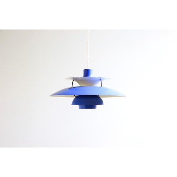 Contemporary Paul Henningsen PH5 Pendant Light For Sale - Image 3 of 7