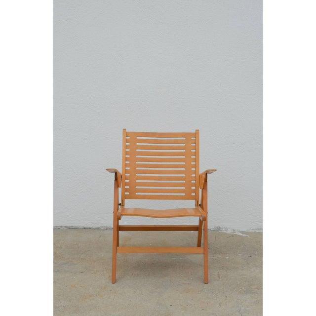 Astounding 1950S Vintage Niko Kralj Folding Rex Lounge Chair Theyellowbook Wood Chair Design Ideas Theyellowbookinfo