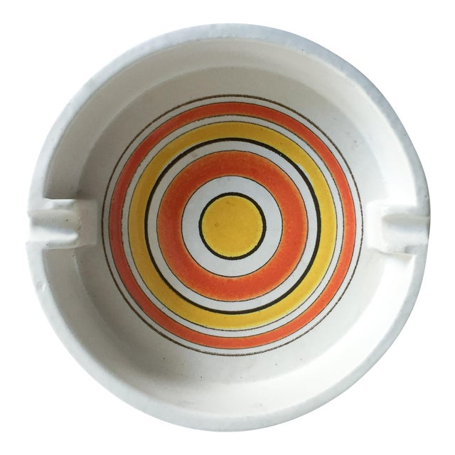 Mid-Century Italian Pottery Ashtray - Image 1 of 5