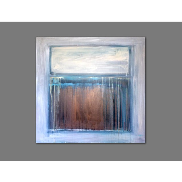 Abstract 'TRAiL OF TEARS' Original Abstract Painting by Linnea Heide For Sale - Image 3 of 8