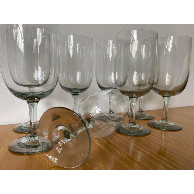 1950s Holmegaard Denmark Elsinore Smoke Glass Stemware - Set of 8 For Sale In Tulsa - Image 6 of 8
